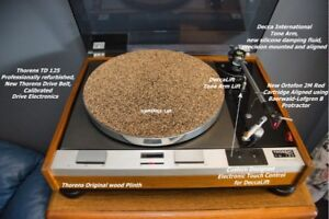 Thorens TD 125 Turntable with Tone Arm, Cartridge, Many Extras!