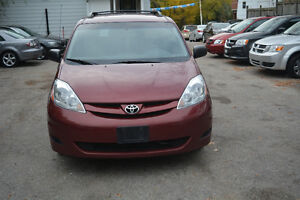 2008 TOYOTA SIENNA CE,NO ACCIDENT,ONE OWNER, TWO YEAR WARRANTY.
