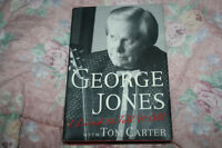 George Jones signed , I lived to tell it all