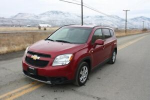 2012 Chevrolet Orlando LT - NOW REDUCED TO ONLY $11770!!