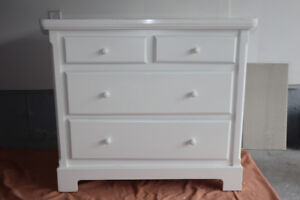 Charming White Dresser (and Change Table)