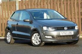 2014 VOLKSWAGEN POLO 1.2 MATCH EDITION 3DR HATCHBACK PETROL