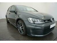 2015 GREY VW GOLF 2.0 TDI 184 GTD DSG AUTO 5DR HATCH CAR FINANCE FR £217 PCM
