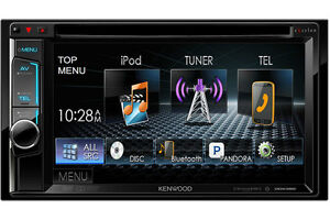 """Kenwood DDX392 Double DIN Bluetooth In-Dash  6.2"""" Touchscreen"""