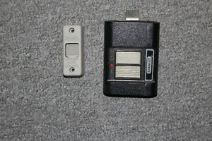 STANLEY REMOTE CONTROL FOR GARAGE DOORS WITH SWITCH