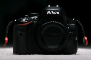 Nikon D5100 DSLR w/Nikon 35mm f/1.8G + extras