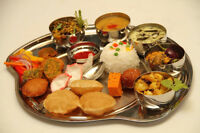 Pure Indian home made food and sweets (very close to WEM)