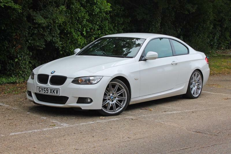 BMW I M Sport Coupe White In Isleworth London Gumtree - 2009 bmw 325