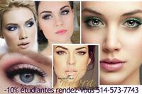 maquillage professionnelle certifier