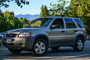 2001 Ford Escape XLT SUV, 4WD, $2699