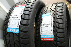 235/55R18 ESKAY WINTER + SET OF 4