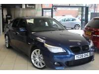 2008 08 BMW 5 SERIES 3.0 535D M SPORT 4D AUTO 282 BHP DIESEL