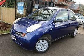 Nissan Micra 1.2 S Automatic Blue 3 Door Super Low Mileage Full Service History