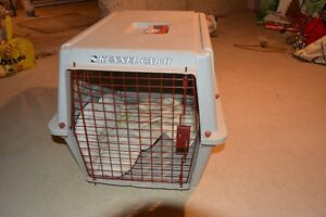Dog carrier for 30 pounds dog or cat asking $40.00.