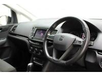 2017 17 SEAT ALHAMBRA 2.0 TDI SE 5DR 1 OWNER AUTO 150 BHP DIESEL