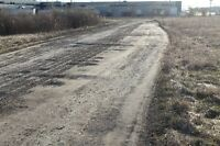 Gravel Laneway and Parking Lot Resurfacing