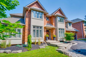 Custom built Ancaster Home with in-law potential