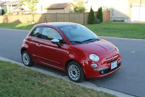 2014 Fiat 500 Lounge Coupe (2 door)