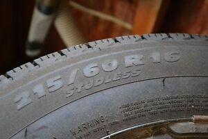 Michelin x-ice on winter wheels