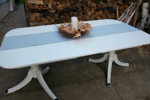 Vintage Painted Dining Table