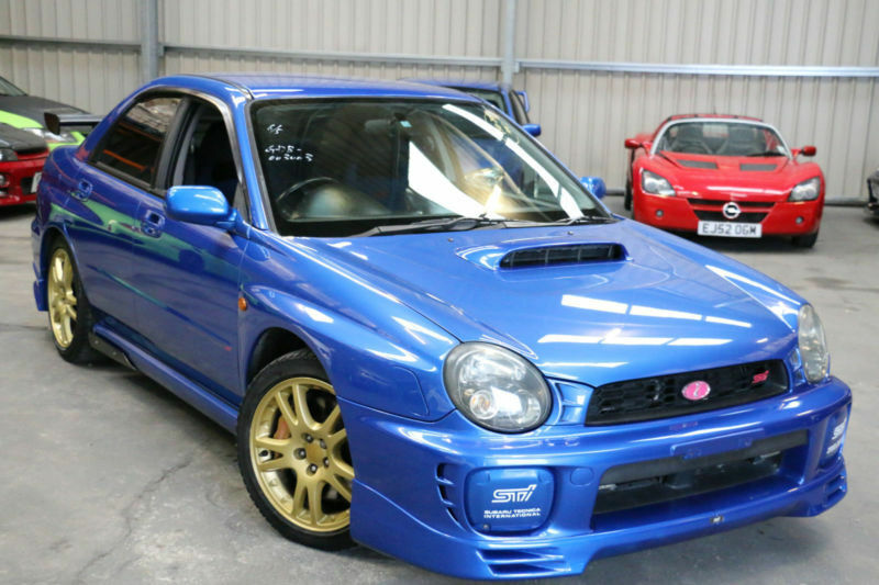 subaru impreza wrx sti bugeye comes with factory forged pistons and rods in high wycombe. Black Bedroom Furniture Sets. Home Design Ideas