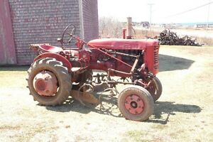 Farmall 100 Tractor- with Attachments- Ready for Gardening!