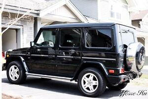 Black Mercedes Benz G500