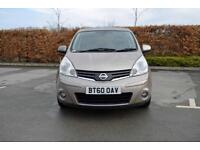 2010 NISSAN NOTE Nissan Note 1.4 N Tec 5dr