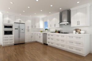Free Quartz Countertop with Solid Wood Kitchen Cabinets purchase