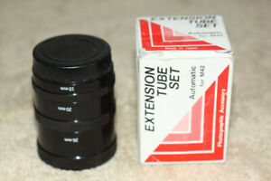 M42 mount camera automatic extension tube set