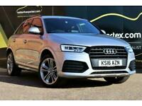2016 Audi Q3 1.4 TFSI S LINE AUTOMATIC 45,000 MILES 1 OWNER SAT NAV 5d 148 BHP E