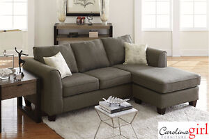 Brand NEW Grande Grey Sectional! Call 306-347-3311!
