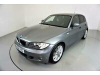 2008 BMW 1 Series 2.0 118D M SPORT 5d-HALF LEATHER-REAR PARKING SENSORS-CLIMATE