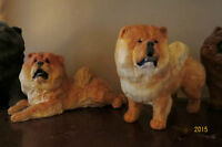 Collection of Chow Chow Figurines.