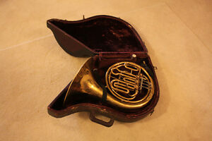 Double FRENCH HORN tuned in F/Bb made by Orsi in Italy