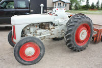 9N Ford Tractor with Attatchments