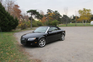 Audi 2007 A4 Quattro Cabriolet- Lady Driven Well Maintained