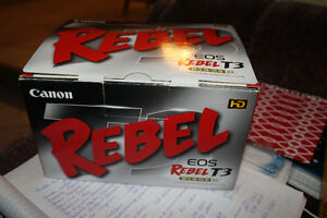 Canon Rebel T3. - SOLD