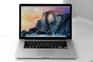 Apple MacBook Pro Retina 15 inch intel core i7  16g/512g A 1499$