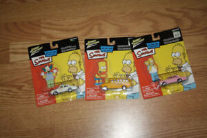 Simpsons car collectibles