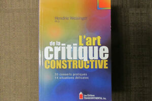 L'ART DE LA CRITIQUE CONSTRUCTIVE
