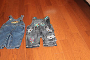 2 x 3-6m jumpsuits for boys (one John Deere)