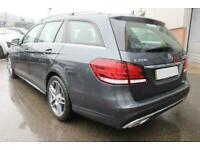 2014 GREY MERCEDES E220 ESTATE 2.1 CDI AMG SPORT AUTO CAR FINANCE FR £209 PCM