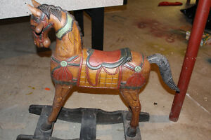 Antique Looking Rocking Horse