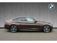 2017 BMW 4 Series 440i M Sport Gran Coupe Auto Hatchback Petrol Automatic
