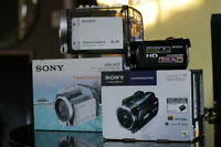 Camera Sony full HD 240Gb HDR-XR550V et boitier Sony Sportpack