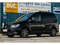 2017 Volkswagen Caddy C20 2.0 TDI 102 BHP BLACK EDITION DIESEL MANUAL VAN *SEE V