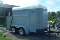 Two Stall Horse Trailer---Trade for Farm Tractor