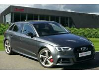 2017 Audi A3 Sportback Black Edition 2.0 TFSI quattro 310 PS S tronic Auto Hatch