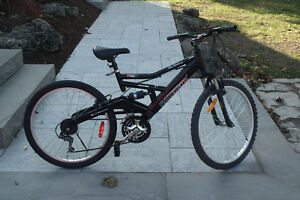 21 Spd.  Dual Suspension Raleigh In Mint Condition Can Deliver
